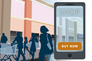 Omnichannel approach to selling products